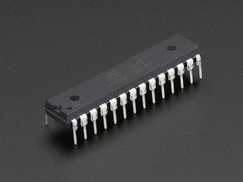 Arduino bootloader-programmed chip (Atmega328P) | Semiconductors ...