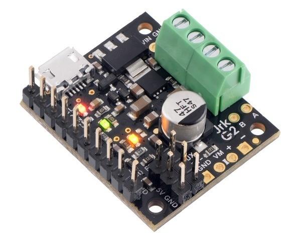 Pololu Jrk G2 21v3 USB Motorsteuerung mit Feedback (Anschlüsse gelötet)