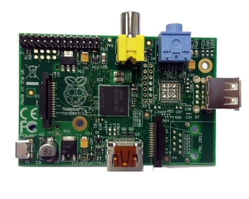 Raspberry Pi Modell A 256MB RAM