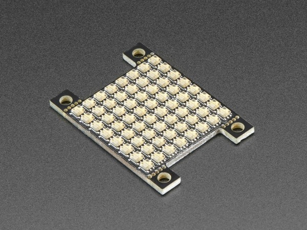 Adafruit DotStar High Density 8x8 Grid - 64 RGB LED Pixel Matrix