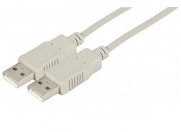USB 2.0 Kabel, USB St. A / USB St. A, 2,0 m