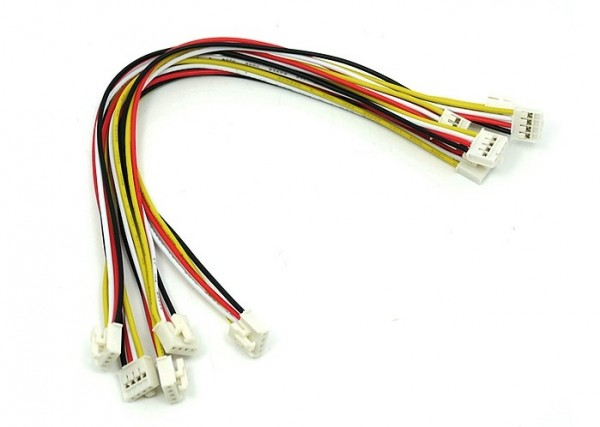 Seeed Studio Grove - Universal 4 Pin Buckled 20cm Cable (5 PCs pack)