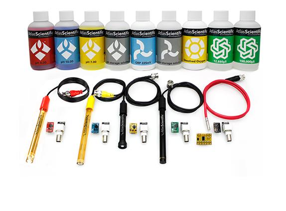 ENV-SDS Kit (K=1.0) mit Basic EZO Inline Voltage Isolator (x4)