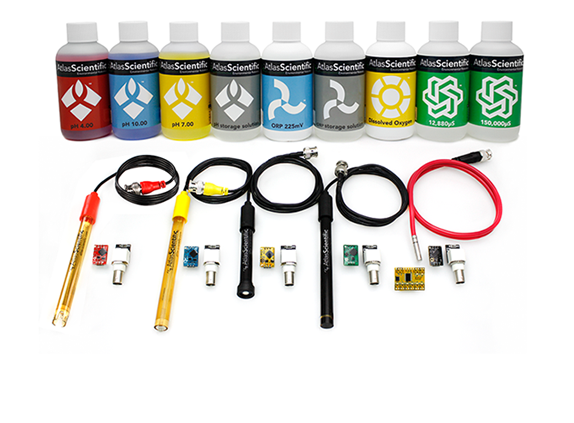 ENV-SDS Kit (K=1.0) mit Basic EZO Inline Voltage Isolator (x4)