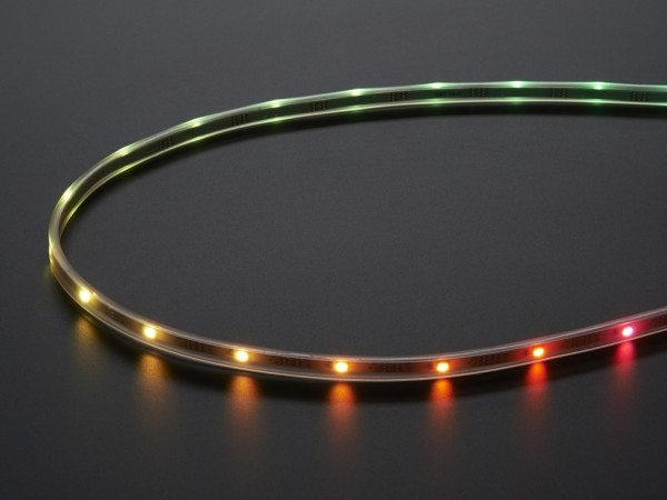 Adafruit Mini Skinny NeoPixel Digital RGB LED Strip - 30 LED/m - WHITE 5m