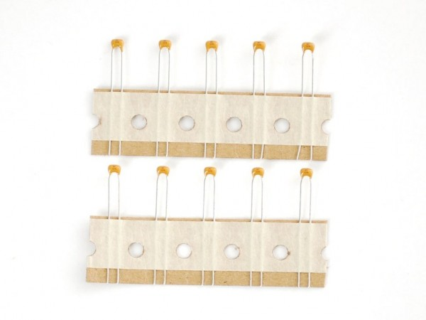 0.1uF ceramic capacitors - 10 pack