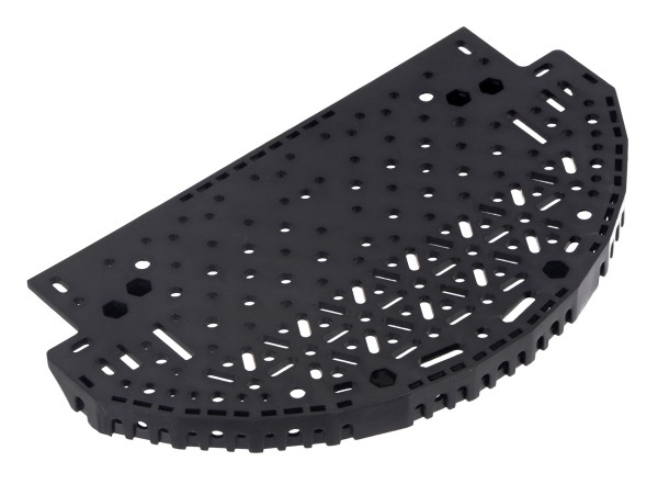Romi Chassis Expansion Plate - Black