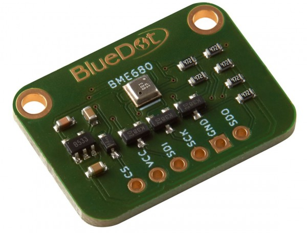 BlueDot BME680 Breakout Board -Temperature, Humidity, Barometer and Gas