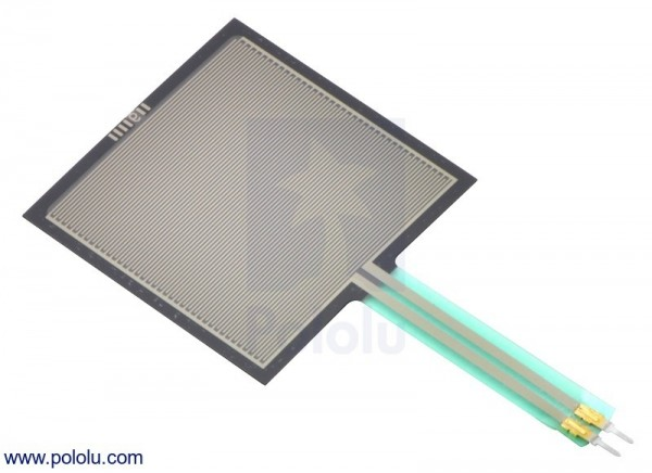 Square Force-Sensitive Resistor (FSR) - Interlink 406