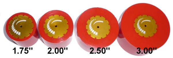 "FingerTech Urethane Sumo Wheel 3.00"""
