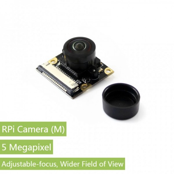 Waveshare RPi Camera (M), Fisheye Lens