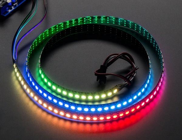 Adafruit NeoPixel Digital RGB LED Strip 144 LED - 1m - Schwarz