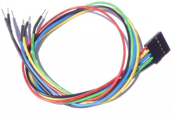 "5 pin Female Header 12"" Cable for Arduino"