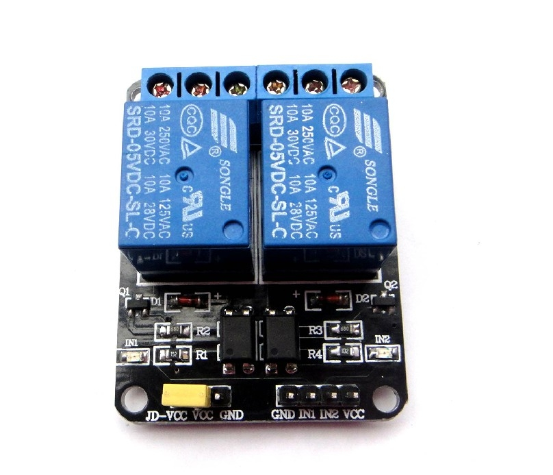 V channel relay shield for arduino exp tech
