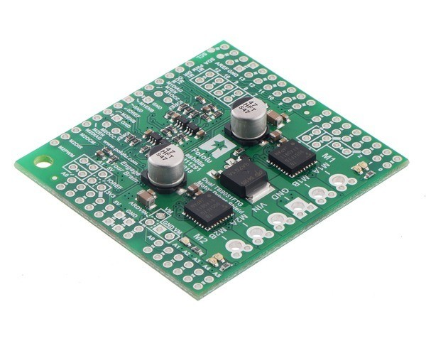 Pololu Dual TB9051FTG Motor Driver Shield for Arduino