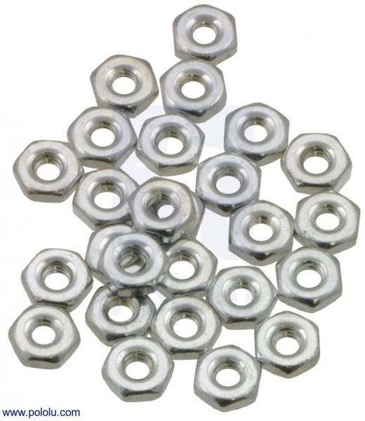 Machine Hex Nut: #2-56 (25-pack)