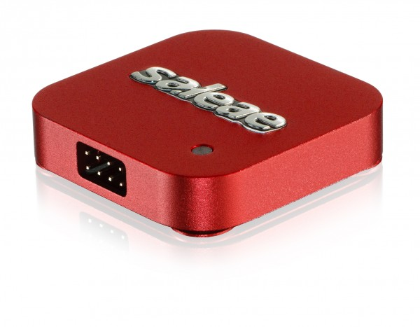 Saleae Logic 4 - USB Logic Analyzer (rot)