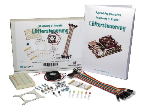 Luftersteuerung Kit für Raspberry Pi