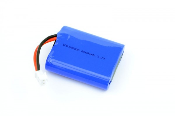 3C Polymer Lithium Ion Battery 6600mAh with JST VH-2P connector
