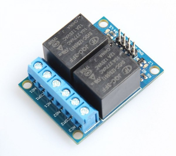 Microbot Relay Module 2-Channel