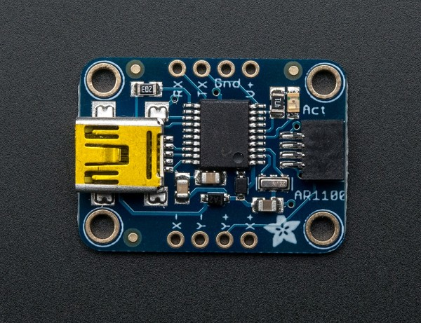 Adafruit Resistive Touch Screen to USB Mouse Controller - AR1100