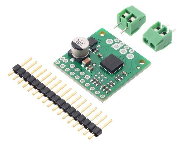 Pololu TB9051FTG Single Brushed DC Motor Driver Carrier
