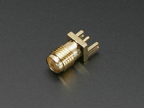 Edge-Launch SMA Connector for 0.8mm Slim PCBs