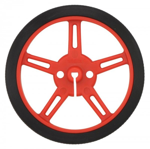 Pololu Wheel 60x8mm Pair - Red