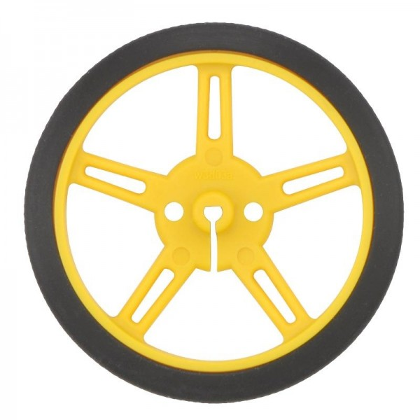 Pololu Wheel 60x8mm Pair - Yellow