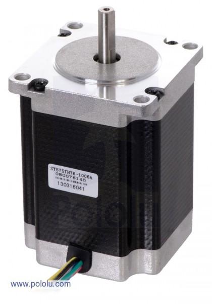Stepper Motor: Unipolar/Bipolar, 200 Steps/Rev, 57×76mm, 8.6V, 1 A/Phase