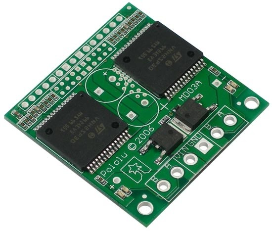Pololu Dual VNH2SP30 Motor Driver Carrier MD03A