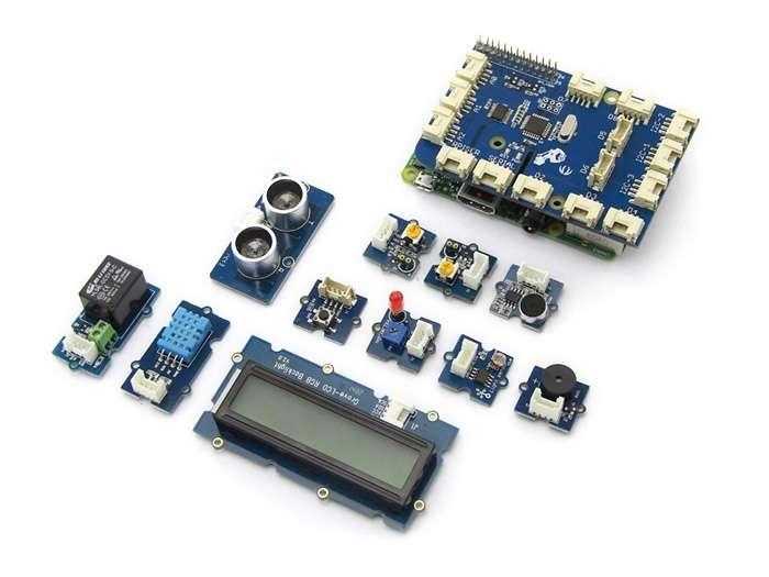 Seeed studio grovepi starter kit für raspberry pi kits