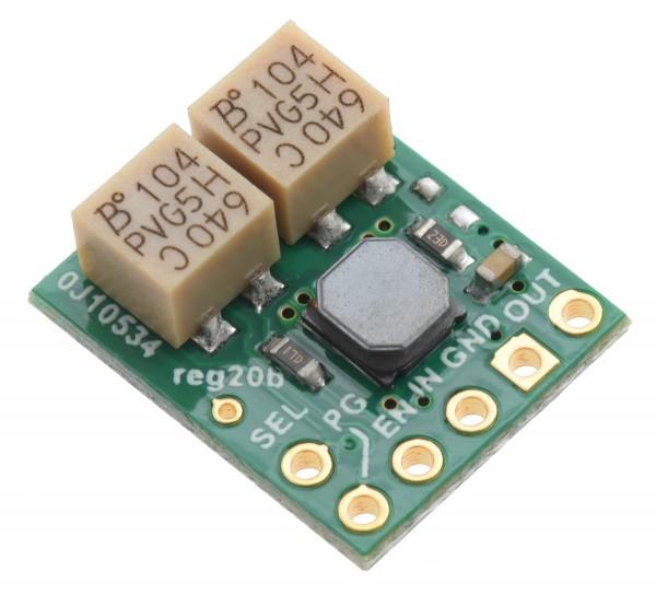 2.5-9V Fine-Adjust Step-Up/Step-Down Voltage Regulator w/ Adjustable Low-Voltage Cutoff S9V11MACMA