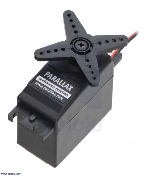Parallax 900-00008 (Futaba S148) - Kontinuierlich drehender Servomotor