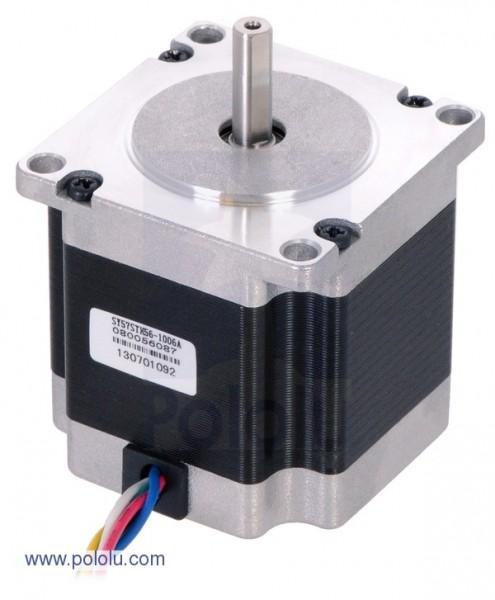 Stepper Motor: Unipolar/Bipolar, 200 Steps/Rev, 57x56mm, 7.4V, 1 A/Phase