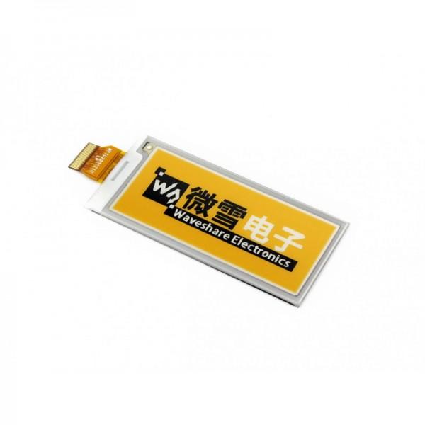 Waveshare 2.9 Inch E-Ink Raw-Display mit SPI-Interface (gelb, schwarz, weiß)