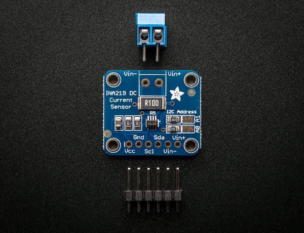 Adafruit INA219 High Side DC Current Sensor Breakout - 26V