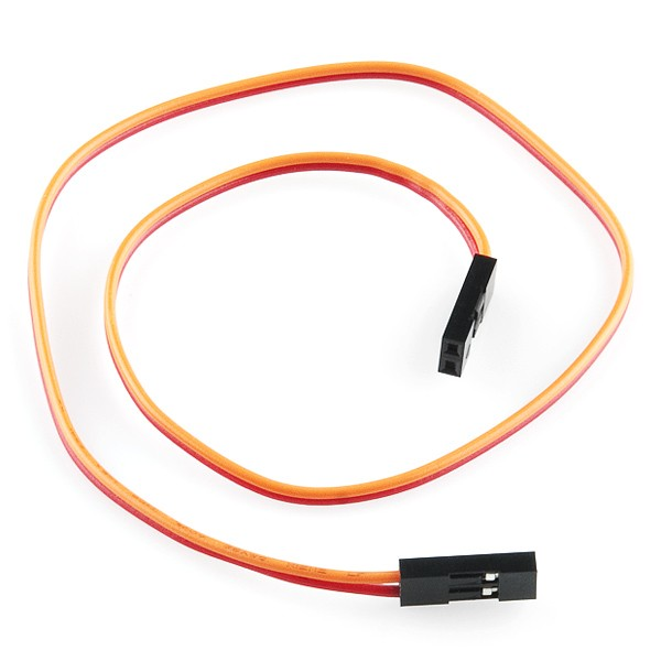 "Jumper Wire - 0.1"", 2-pin, 30cm"