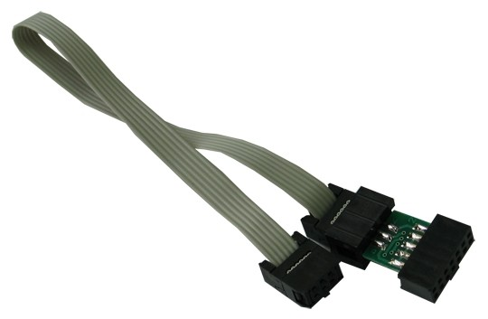 AVR-ICSP 6 10 Pin Cross Connection Cable