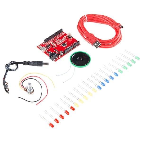 Sylvia's Super Awesome Kit with RedBoard Atmega 328