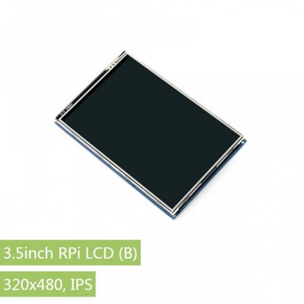Waveshare 3.5 inch RPi LCD (B), 320×480, IPS