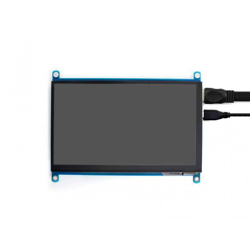 waveshare 7 inch hdmi lcd (h), kapazitives touch display 1024x600waveshare 7 inch hdmi lcd (h), kapazitives touch display 1024x600 ips