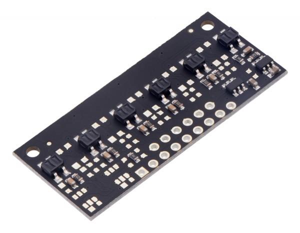 QTR-MD-06RC Reflectance Sensor Array: 6-Channel, 8mm Pitch, RC Output
