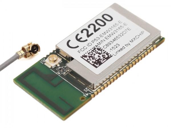 Seeed Studio EMW3165-Cortex-M4 based WiFi SoC Module (External IPEX antenna)