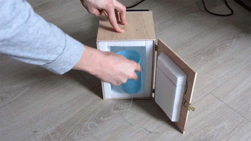 Mini Kühlschrank Diy : Projekte von makern mini kühlschrank selber bauen exp tech