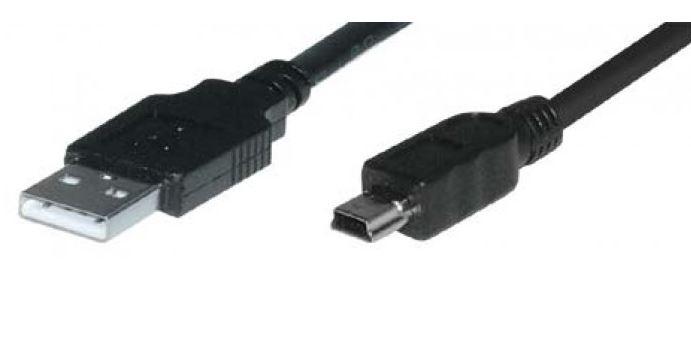 Mini USB Cable - USB A Plug to USB Mini B Plug 1.8m | USB | Cables ...