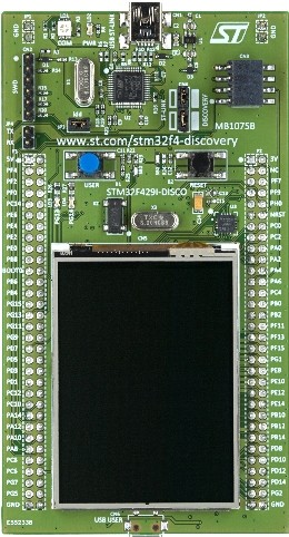 32F429IDISCOVERY Discovery kit with STM32F429ZI MCU