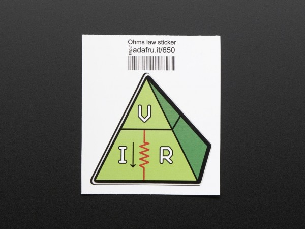 Ohms law, VIR - Sticker!
