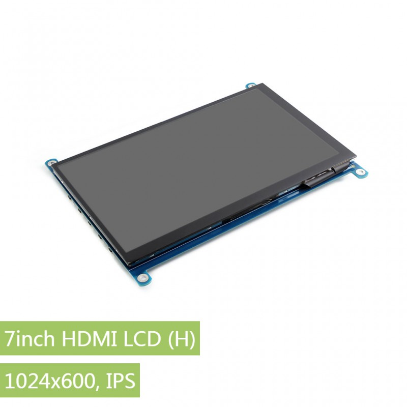 waveshare 7 inch hdmi lcd (h), kapazitives touch display 1024x600