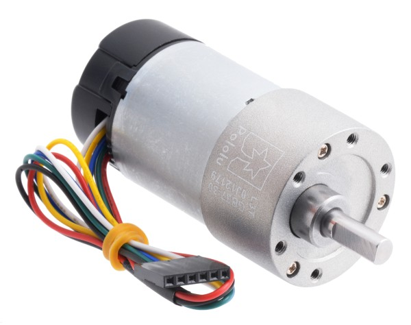 30:1 Metal Gearmotor 37Dx68L mm with Encoder